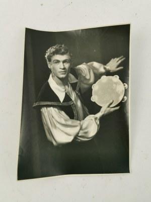 Edward HARTWIG (1909-2003), Zestaw 8 zdjęć z wizerunkami aktorów (między innymi z teatru w Lublinie)