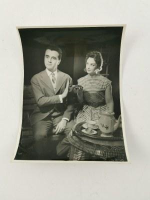 Edward HARTWIG (1909-2003), Zestaw 5 zdjęć z wizerunkami aktorów