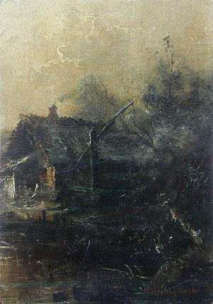Roman Kochanowski (1857 Kraków - 1945 Freising w Bawarii), Nokturn