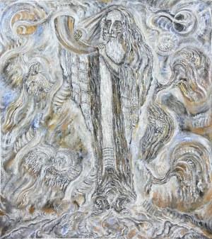 Zdzisław Lachur (1920 Zagórz - 2007 Warszawa), Święto Purim, 1992 r.