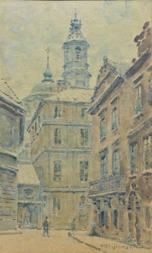 Tadeusz Cieślewski (1870 Warszawa-1956 tamże), Widok Warszawy
