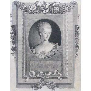 Daniel Chodowiecki (1726 Gdańsk - 1801 Berlin), Frederique Sophie Wilhelmine Princesse de Prusse, 1767 r.
