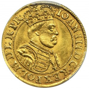 John III Sobieski, Ducat Danzig 1688 - PCGS MS63