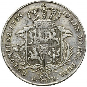 Poniatowski, Thaler Warsaw 1788 EB