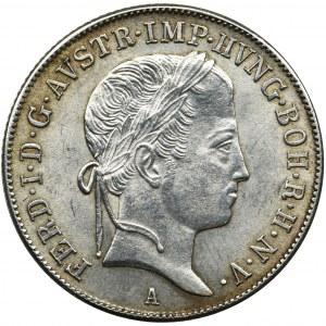 Austria, Ferdinand I, 20 Kreuzer Wien 1848 A