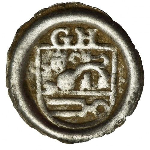 Germany, County of Schwarzburg, Günther XXXIX and Heinrich XXXI, Hohlpfennig Arnstadt 1493-1526 - UNLISTED, RARE