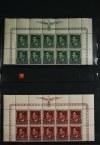 Kolekcja wyselekcjonowanych znaczków polskich w dwóch albumach