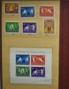 Wielotomowa kolekcja znaczków polskich - zbierana przez dziesięciolecia