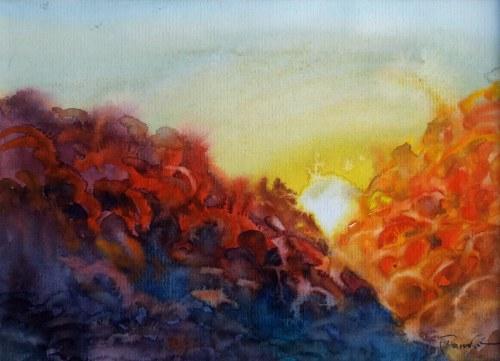 Aleksander Franko, Zachód słońca