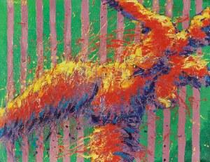 Witold ABAKO (ur. 1958), Stara Panna w modrzewiach, 1999