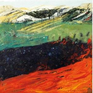 Bogna JARZEMSKA-MISZTALSKA (ur. 1979), Kompozycja; z cyklu: Impresje barwne, 2018