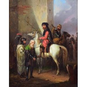 Józef BRODOWSKI (1772-1853), Jeńcy, 1852