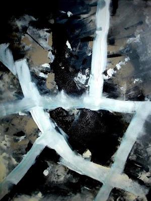 Alicja Domańska, Grey Flow, z cyklu Pictura Intacta, 2014