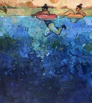 Magdalena Połacik, Scena rodzajowa nad wodą(2020)