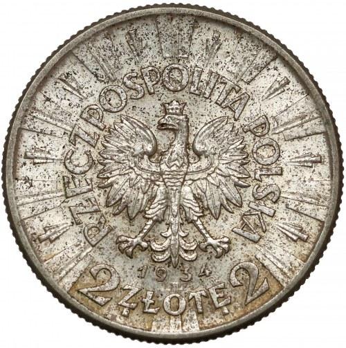 Piłsudski 2 złote 1934