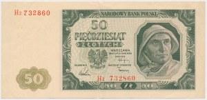 50 złotych 1948 - H2 - znakomity stan