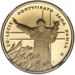 200 złotych 1998 20-lecie pontyfikatu Jana Pawła II