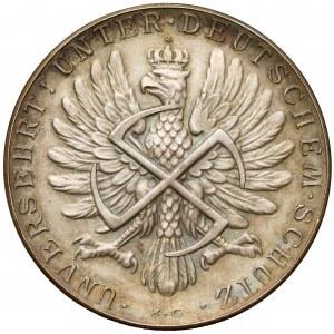 Medal 1939 Matka Boska (Amrogowicza) / Orzeł ze swastyką