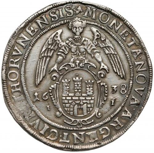 Władysław IV Waza, Talar Toruń 1638 II - atrakcyjny