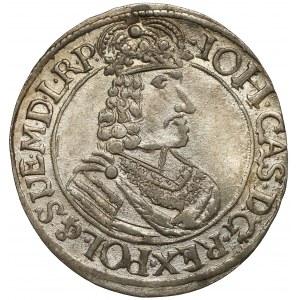 Jan II Kazimierz, Ort Toruń 1664 HDL - rzadki i bardzo ładny