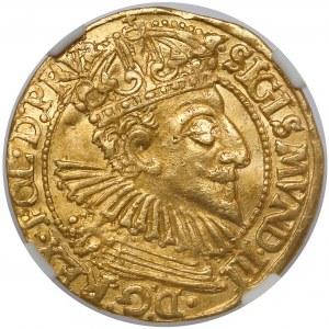 Zygmunt III Waza, Dukat Gdańsk 1595 - rzadki