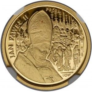 Próba ZŁOTO 20.000 złotych 1991 Jan Paweł II - Ołtarz