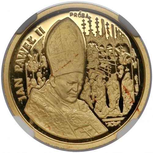 Próba ZŁOTO 50.000 złotych 1991 Jan Paweł II - Ołtarz