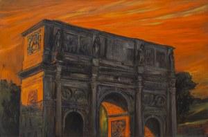 Adam Rokowski, Zachód słońca nad Forum Romanum IV, 2019