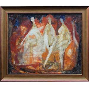 Konstanty Gorbatowski, Kompozycja z trzema postaciami