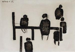 Witold K. (Leszek Wit Kaczanowski), Na żerdzi, 1967