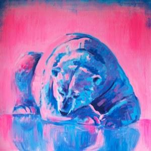 Joanna Jamielucha, Sen w świetle zorzy polarnej, 2020
