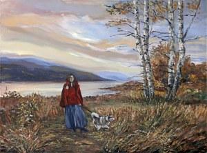 Celina Reiss-Litke, Na spacerze, 2004