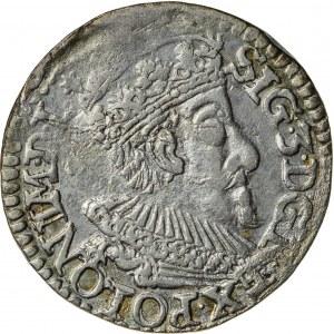 Zygmunt III Waza (1587–1632), trojak koronny, Olkusz; 1593
