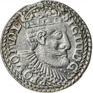 Zygmunt III Waza (1587–1632), trojak koronny, Olkusz; 1599