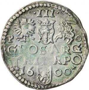 Zygmunt III Waza (1587–1632), trojak koronny, Poznań; 1600