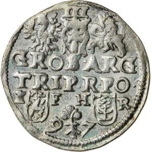 Zygmunt III Waza (1587–1632), trojak koronny, Poznań; 1597