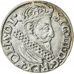 Zygmunt III Waza (1587–1632), trojak koronny, Kraków, 1622