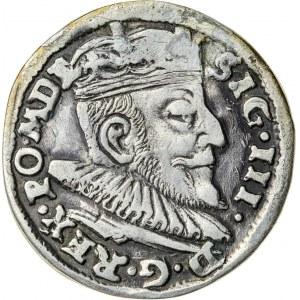 Zygmunt III Waza (1587–1632), trojak litewski, Wilno; 1592