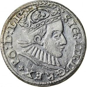 Zygmunt III Waza (1587–1632), trojak ryski, Ryga; 1588