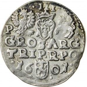 Zygmunt III Waza (1587–1632), trojak koronny, Poznań; 1601