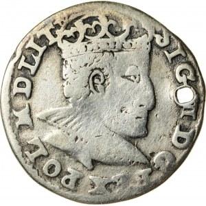 Zygmunt III Waza (1587–1632), trojak koronny, Olkusz; 1591