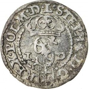 Stefan Batory (1576–1586), szeląg koronny, Olkusz; 1585