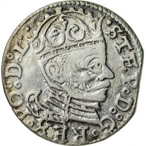 Stefan Batory (1576–1586), trojak ryski, Ryga; 1583