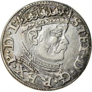 Stefan Batory (1576–1586), trojak ryski, Ryga; 1586