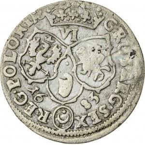Jan III Sobieski (1674–1696), szóstak koronny, Bydgoszcz; 1683