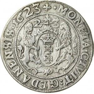 Zygmunt III Waza (1587–1632), ort gdański, Gdańsk; 1623