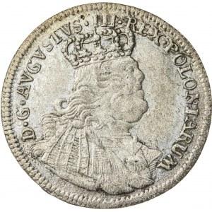 August III Sas (1733-1763), szóstak koronny, Lipsk; 1754
