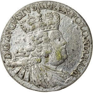 August III Sas (1733-1763), szóstak koronny, Lipsk; 1756