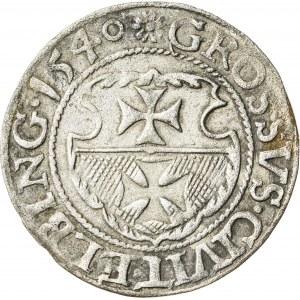 Zygmunt I Stary (1506–1548), grosz elbląski, Elbląg; 1540
