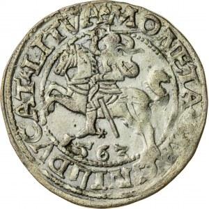 Zygmunt II August [1544 (1548) –1572], półgrosz litewski, Wilno; 1563